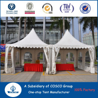 Advertising tent gazebo for outdoor promotion activity