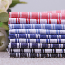 popular 100%cotton Yarn-dyed striped fabric multicolor for DIY handmade sewing dress shirt