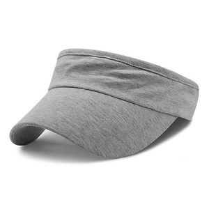 One Size Fit All Spandex Girl Cap Visor With Elastic Back