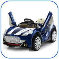 Electric Ride On 12v Sports Car with Parental Remote Kids ride on electric toy car with opening doors
