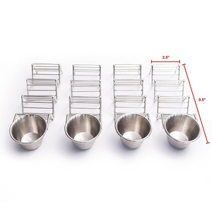 Stainless Steel Taco holder Stand Mexican Food Soft with Condiment cup