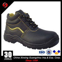 OEM split leather tactical boots classical man leather combat shoe for military