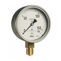 EN 837-3/5 High quality Factory Price precision master Different magnehelic pressure gauge