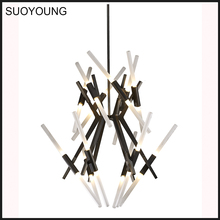 Modern Indoor Chandelier Pendant Lighting (MD8058-24B)