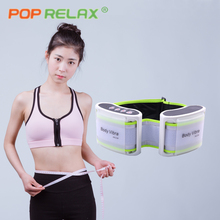 POP RELAX electric slimming massage belt vibration fat burning body vibrator vibrating waist massager cellulite vibro healthy