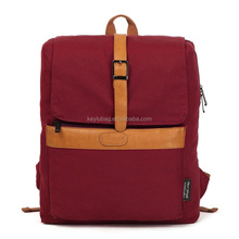 Eco friendly custom teen fashion school backpack