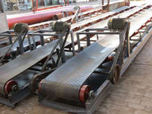 Small Belt conveyor system