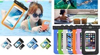 Swimming Waterproof Transparent PVC Pouch Dry Bag Case For Iphone Xiaomi Meizu