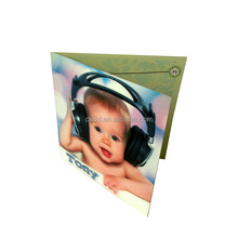 handmade decoration 3d lenticular greeting card
