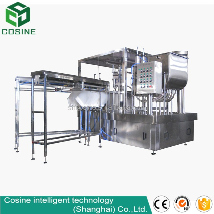 Fruit jam filling packaging machines/stand-up spout pouch/juice spout bag fill seal machine