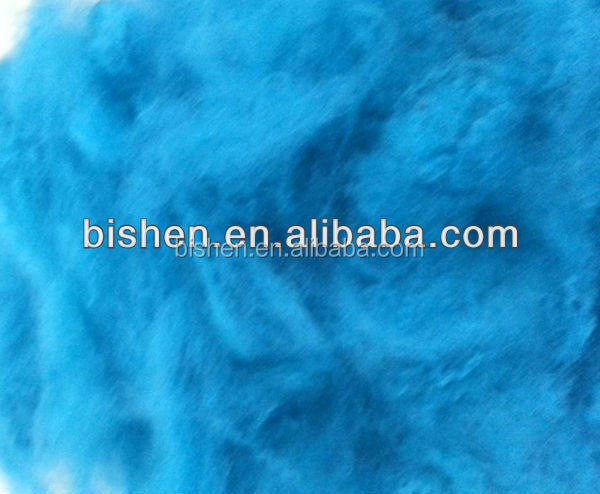 bright red Polyester Staple Fiber