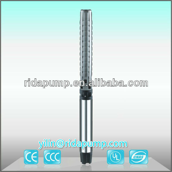 6SP 6inch solar powered stainless steel submersible electrical centrifugal water <strong>pump</strong> 3 taizhou