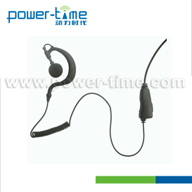 Electric shock shield 2 way communication headset for TK-320,TK3307,TK3207(PTE-300)