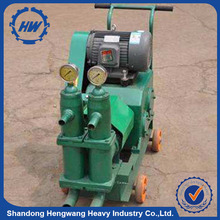 single cylinder crack filling cement mortar pump/electric cement sand grouter