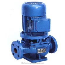 High lift vertical anti-resistant inline centrifugal pump set