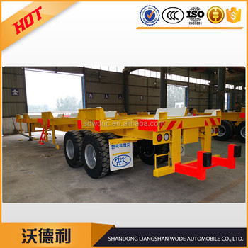 45 ft Yard chassis / container chassis