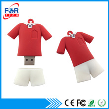 2017 Football Club Clothes Fancy Flash Drive Basketball USB Pen Drive for sports club memorias bulk 1gb 2gb 4gb 8gb
