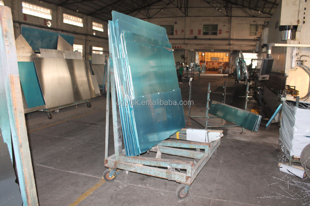 manufacturer price 1300*2500mm cnc metal processing machine