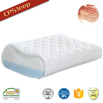 Foam manufacturer cooling gel pillow, gel memory foam pillow