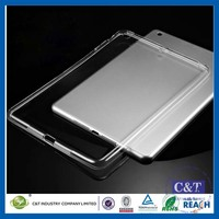 C&T Hot Sale Newest transparent clear tpu case for ipad mini 4