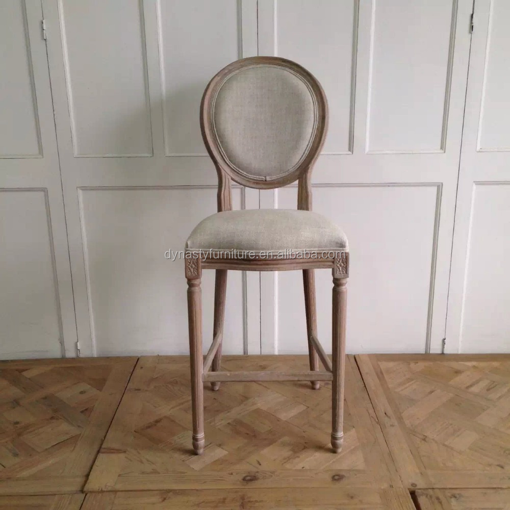 Antique furniture Long legged chair with no arms