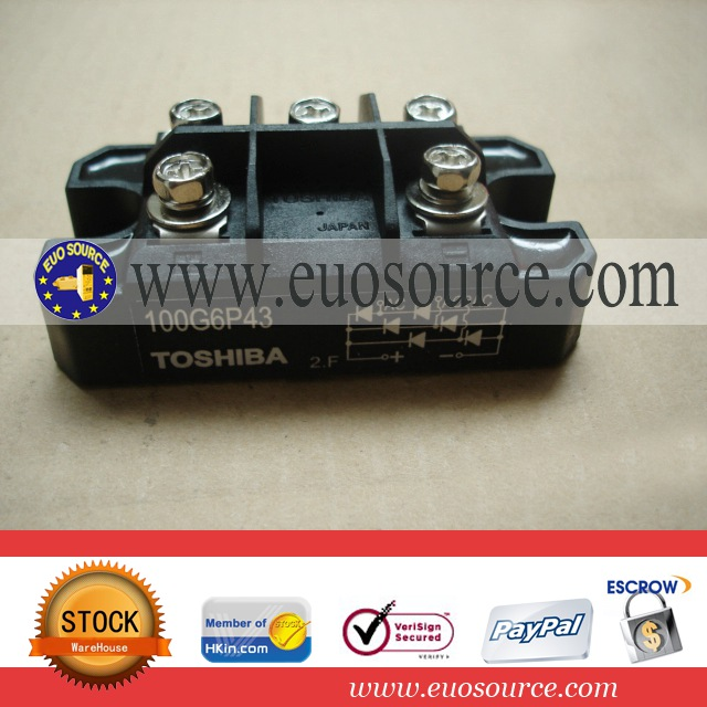power Toshiba bridge type rectifier 100G6P43