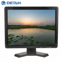 "15"" 17"" 19"" CCTV LED Monitor for School Bus CCTV System 17 Inch TFT LCD Monitor with BNC HD Input"
