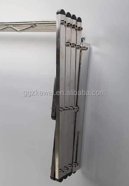 Wall Mounted  Rack, Foldable Stainless Steel Clothes hanger towel rack