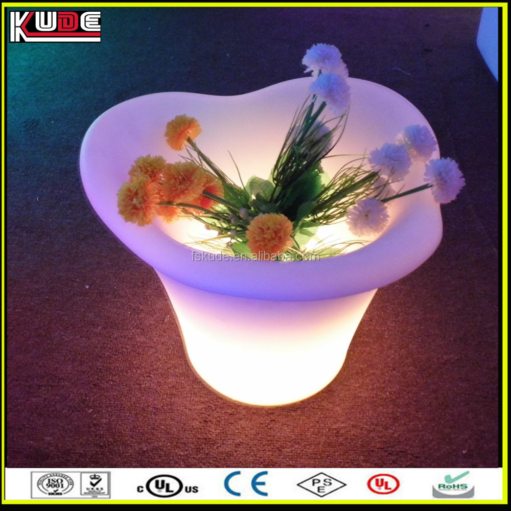 party/ wedding plastic ice coolers with LED light