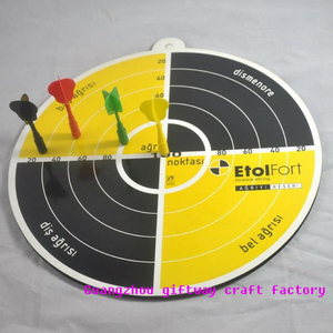 China supplier Hot selling Customized Souvenir custom magnetic desktop dartboard