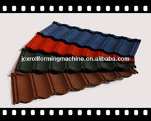 Colorful stone coated metal roof tile, JCX-A1