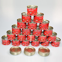 Canned Tomato Paste 28-30% Tomato Sauce in tins/drum/jars 2200gX6tins