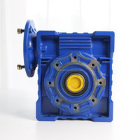 Chinese Die Cast Iron RV series worm gear reducer NMRV110, best worm speed reducer in china