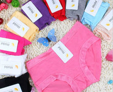 Women's bamboo underwear 3pcs different color in a polybag