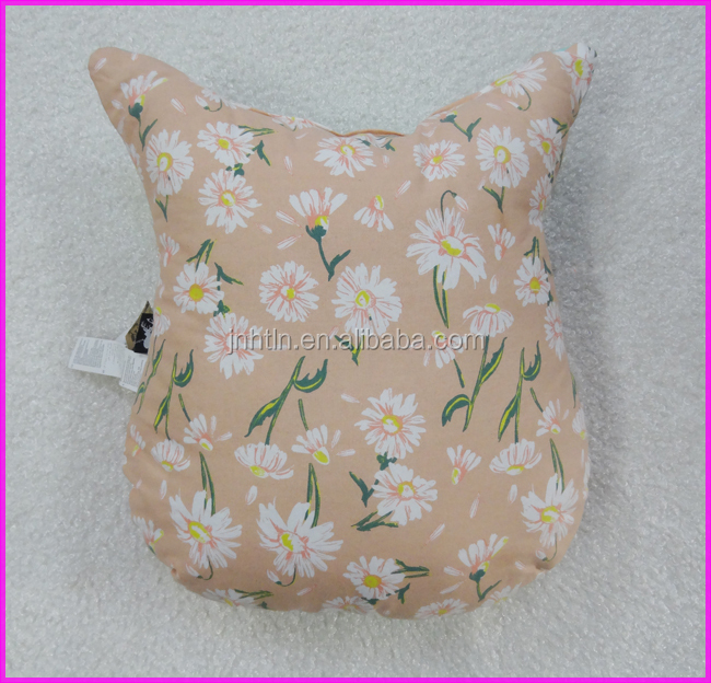 cotton cushion of custom printed colorful design printed cushion
