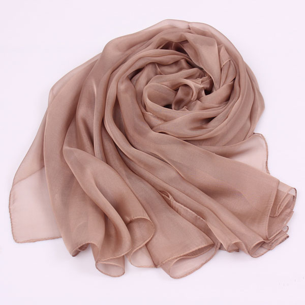 Wholesale china custom pure silk scarf