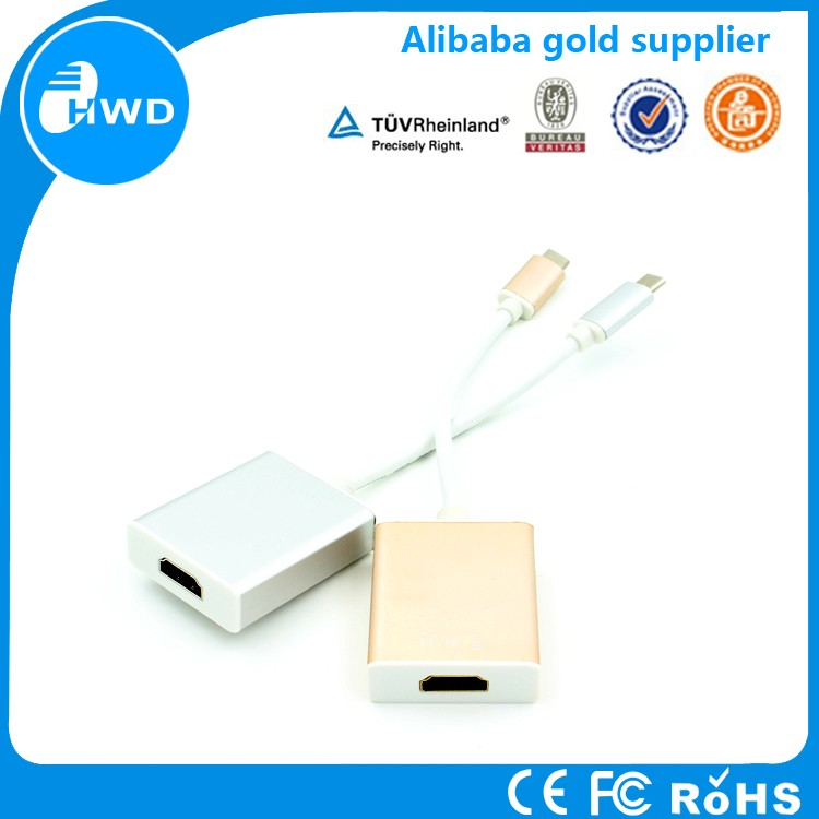 2016 newest high speed USB 3.1 data transfer Type C To HMDI adapter for Macbook