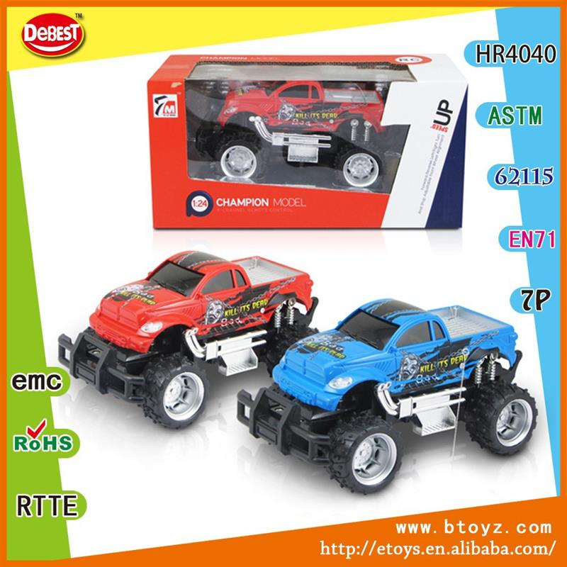 4 Channel Remote Control Car Model Powerful RC Car