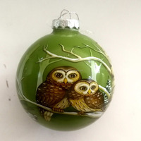 China Personalized Vintage Christmas Ornaments Glass Ball