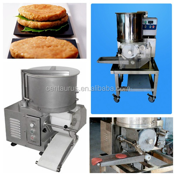Cheapest stainless steel hamburger patty forming machine with fast delivery