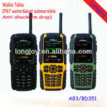 Bluetooth Three-Anti Military Grade Phone With Walkie Talkie Function A83/BD351