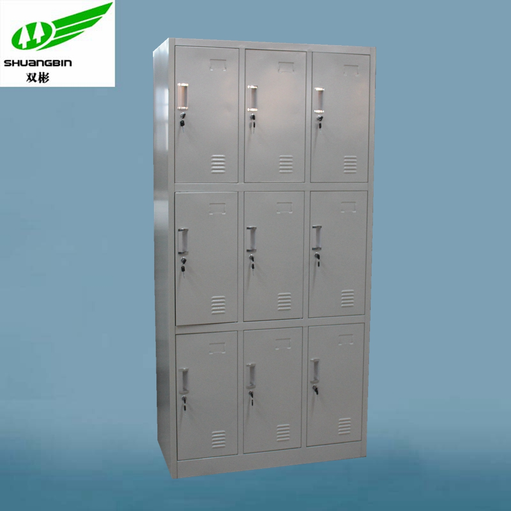Makro Office Furniture Steel Locker Cabinet/9 Door 3 Tier Gym Locker   Buy  Makro Office Furniture,Steel Locker,Metal Cabinet Product On Alibaba.com