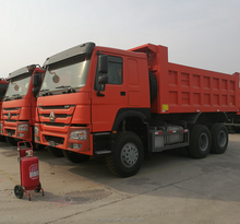 High Quality HOWO truck 10 wheeler 371HP diesel engine utility van truck for sale
