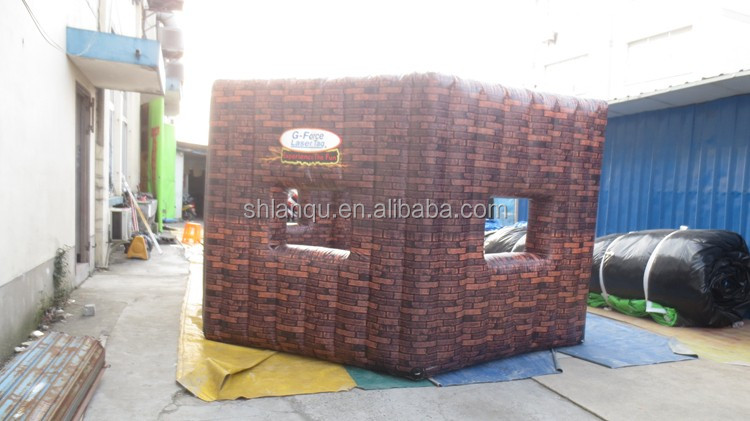 pvc material inflatable paintball air field/ inflatable paintball arena for sale