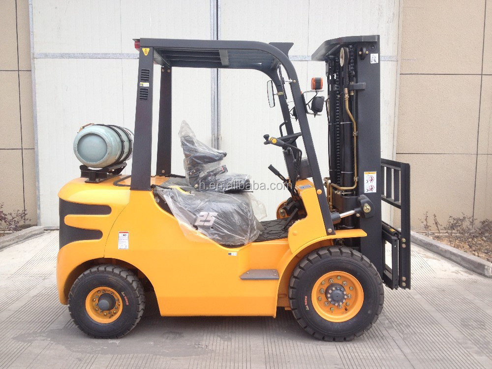 ce forklift truck with nissan k25 engine