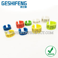 New product hot selling pigeon leg ring manufacturer with your name and umber