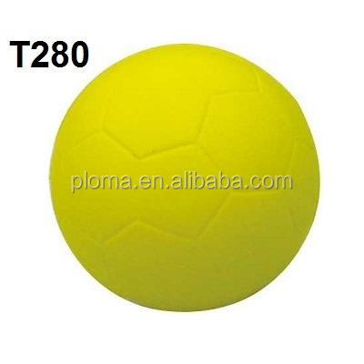 DIA 6.3cm PU Soft Touch Ball of Football Soccer
