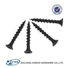 Top quality fastener FOB TIANJIN PORT low price Manufacturer sale black drywall screw