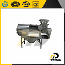 Turbo airflow rotary sifter mannitol processing and screening