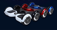 Two Wheels Handsfree Electric Scooter , Smart Balance Wheel Hoverboard